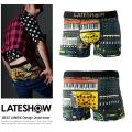 【LATESHOW】Beat Junkie吸水速乾ボクサーパンツ◆5391