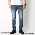 【Betty Smith】日本製/国産High Stretch Denim Skinny◆5781