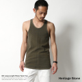 【SALE】【Heritage Stone/ヘリテイジストーン】日本製/国産USED加工ロングタンクトップ◆5806