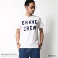 【SALE】【Revo./レヴォ】USAコットンプリントTシャツ【BRAVE CREW】◆5965