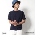 【SALE】【M&S】リンクス編みジャガードウェーブ柄半袖Tシャツ◆5970