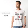【SALE】【VIBGYOR/ヴィブジョー】クルーネックプリントTシャツ◆6026