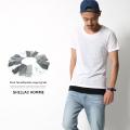 【SALE】【SHELLAC HOMME/シェラックオム】パック入り半袖Tシャツ&タンクトップペアセット◆6065