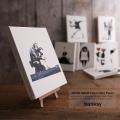 【Banksy/バンクシー】日本製/国産banksyファブリックミニパネル◆6119