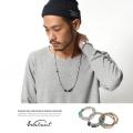 【Walnut.】日本製/国産天然石ロングネックレス&ブレスレット◆6277