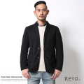 【Revo./レヴォ】ポンチ素材テーラードジャケット◆6358