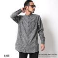 【LISS/リス】バンドカラーロングシャツ◆6703
