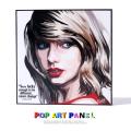 ポップアートパネル/Taylor Swift2 テイラー・スウィフト◆6866