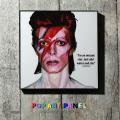 ポップアートパネル/David Bowie デヴィッド・ボウイ◆6867