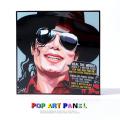 ポップアートパネル/Michael Jackson マイケル・ジャクソン◆6871