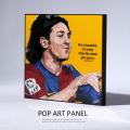ポップアートパネル/Lionel Messi リオネル・メッシ◆6879
