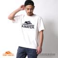 【SALE】【KRIFF MAYER/クリフメイヤー】フロッキーロゴプリント半袖Tシャツ◆6950