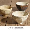 【JARLD/ジャールド】日本製/国産手造り笠間焼き茶碗◆6998