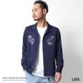【LISS/リス】リス刺繍オープンカラーシャツ◆7056