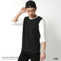 【SALE】【LISS/リス】日本製/国産ローゲージ天竺7分袖カットソー◆7059