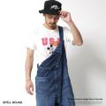 【SPELL BOUND/スペルバウンド】日本製/国産オーバーオール◆7067