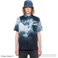 "【Nudie Jeans/ヌーディージーンズ】""BRANDON""SMUDGE PRINT オールオーバースマッジプリントシャツ◆7187"