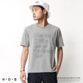 【H・O・B/エイチ・オー・ビー】エンボスTシャツ◆7294