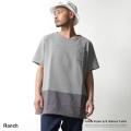 【SALE】【Ranch/ランチ】ポプリン切替バルーン半袖Tシャツ◆7303