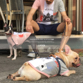 【LICICK/リシック】犬用切替プリントTシャツ◆7364