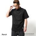 【SALE】【Ranch/ランチ】ポプリン切替プルオーバーシャツ◆7366