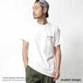【SALE】【modem design/モデムデザイン】ALASKA刺繍Tシャツ◆7375