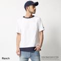 【SALE】【Ranch/ランチ】ブロッキングTシャツ◆7399
