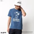 【SALE】【grn/ジーアールエヌ】インディゴ染めTシャツ◆7508