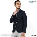 【KAFIKA/カフィカ】日本製COOLMAXデニムテーラードジャケット◆7981