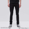 【Nudie Jeans/ヌーディージーンズ】Skinny Lin Black Black◆7991