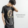 【送料無料】【Nudie Jeans/ヌーディージーンズ】ANDERS Backahasten Black Tシャツ◆8099