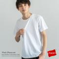 【Hanes/ヘインズ】クルーネック半袖Tシャツ◆8141