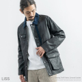 【送料無料】【LISS/リス】Coating Twill Coverall Jacket◆8471