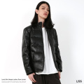 【送料無料】【LISS/リス】Leather Down Jacket◆8472