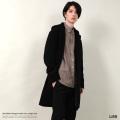 【送料無料】【LISS/リス】Shaggy Hooded Coat◆8591