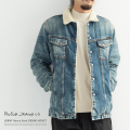 【送料無料】【Nudie Jeans/ヌーディージーンズ】LENNY Heavy Used DENIM JACKET◆8605