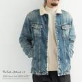 【送料無料】【Nudie Jeans/ヌーディージーンズ】LENNY Heavy Used DENIM JACKET◆8605