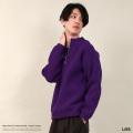 【送料無料】【LISS/リス】日本製/国産 Nylon Half Zip Turtleneck Knit◆8645
