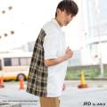 【JRD by JARLD/ジェイアールディーバイジャールド】レギュラーカラー半袖ワークシャツ◆8879