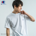 【Champion/チャンピオン】BASIC ワンポイントロゴ刺繍半袖Tシャツ/無地/綿/コットン/ベーシック/クルーネック◆8881