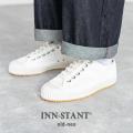 【送料無料】【INN-STANT/インスタント】キャンバススニーカー◆8914