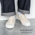 【送料無料】【INN-STANT/インスタント】キャンバススニーカー◆8915