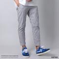【送料無料】【KAFIKA/カフィカ】日本製/国産 COOLMAX Sucker Trousers Crop◆8946