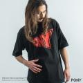 【PONY/ポニー】ブランドロゴ半袖Tシャツ◆9008