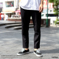【送料無料】【KAFIKA/カフィカ】 日本製/国産 STA-PREST×SOLOTEX Twill One Tuck Trouser◆9030