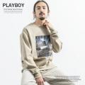 【PLAYBOY】×【RD.Ghost】 別注 スウェットシャツ◆9048