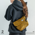 【MEI/メイ】LEOPARD MINI MESSENGER◆9101