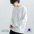 【Champion/チャンピオン】MADE IN USA T1011(ティーテンイレブン)米綿長袖ポケットTシャツ◆9133
