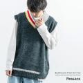 【Ressaca/レサーカ】ビッグニットベスト◆9164