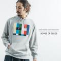 【HOUSE OF BLUES/ハウスオブブルース】フェルト圧縮プルオーバーパーカー◆9183